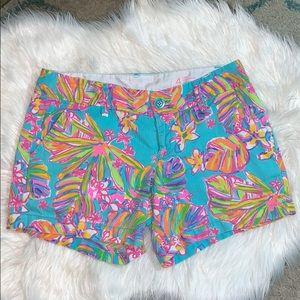 Lilly Pulitzer Callahan Shorts in Summer Haze